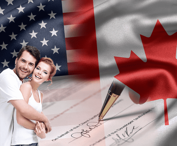 US and Canada immigration Laws for marriage