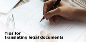 tips for translating legal documents