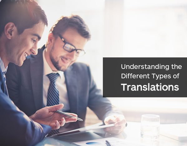 Understanding the Different Types of Translations
